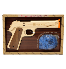 "Elastic Precision ""Straight Shooter"" Model 1911 Rubber Band Gun"