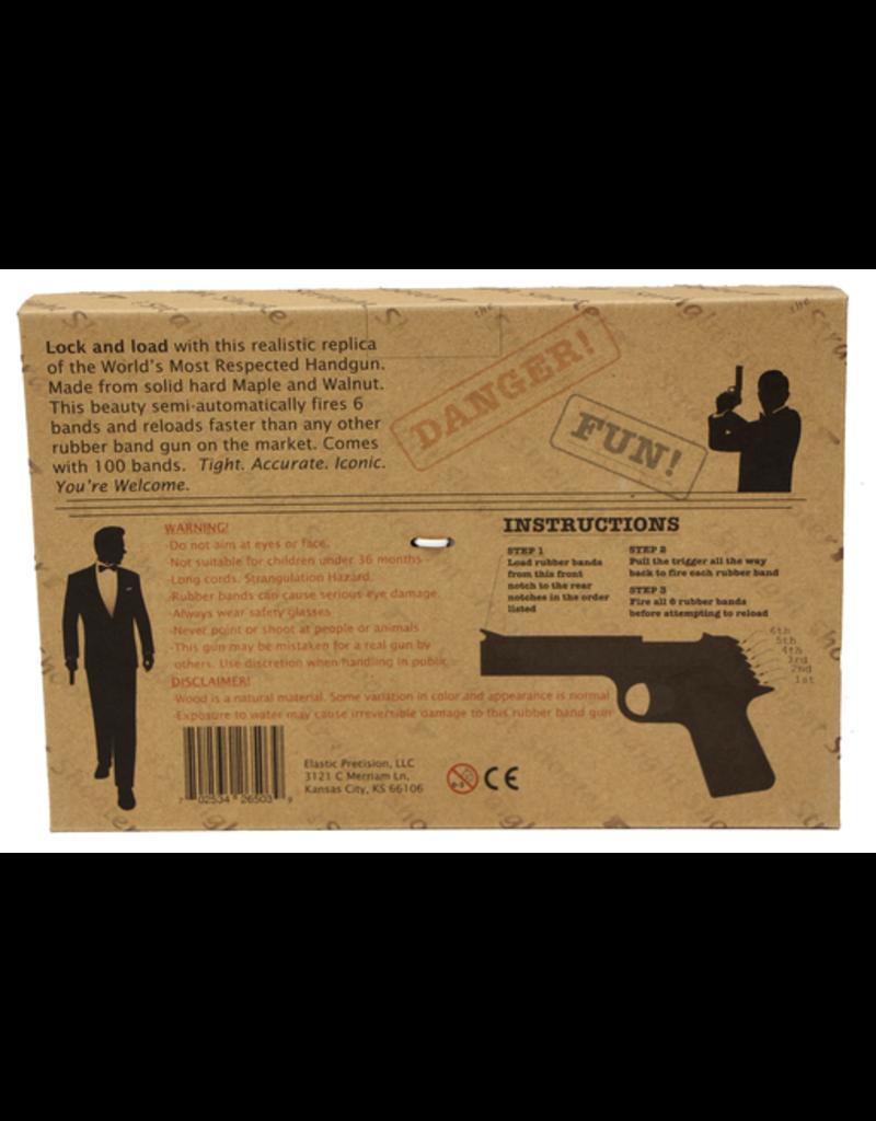 "Elastic Precision ""Straight Shooter"" Model 1911 Rubber Band Gun"