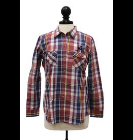 Weatherproof 01697 Vintage Women's Plaid Long Sleeve Shirt