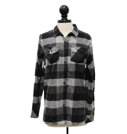 Burnside 01696 Women's Yarn-Dyed Flannel Shirt