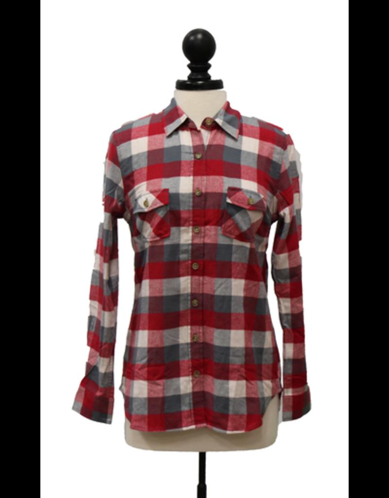 Burnside Women's Vintage Brushed Flannel