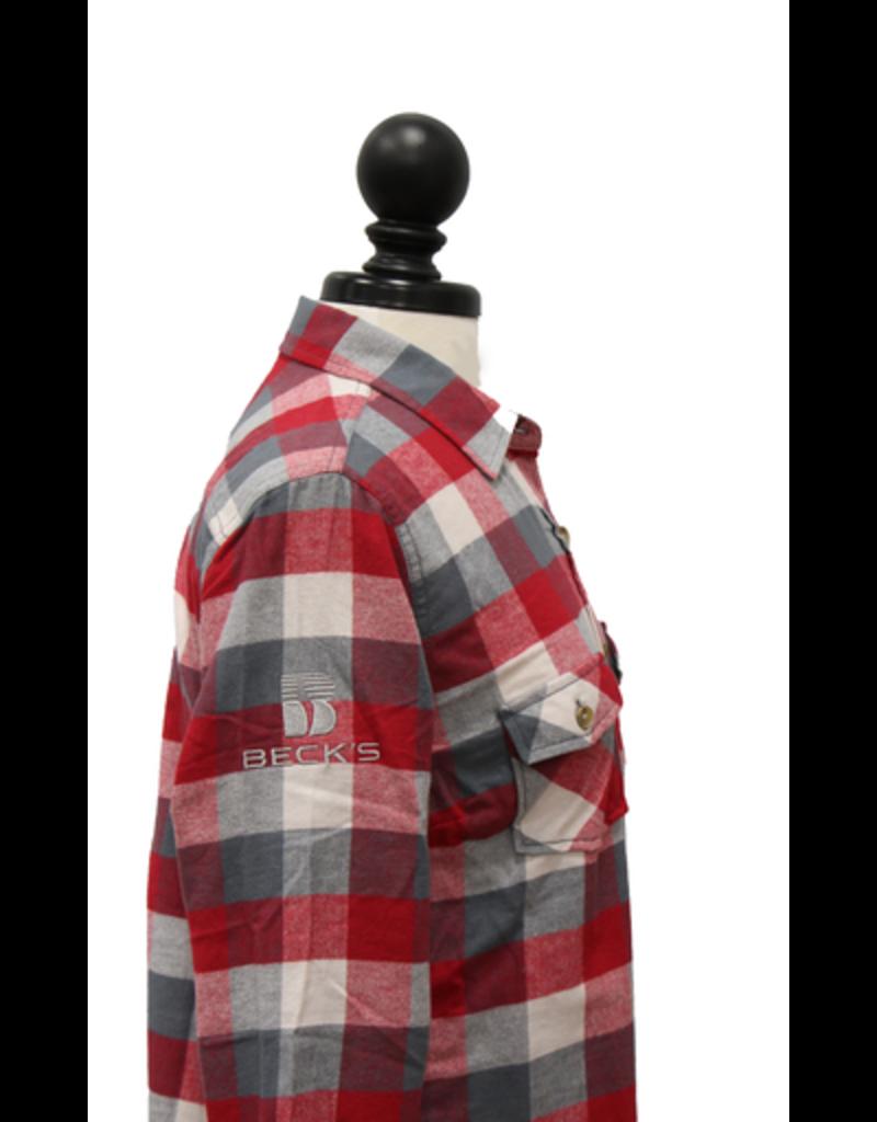 Burnside 01695 Women's Vintage Brushed Flannel