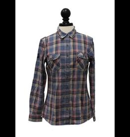 Weatherproof Vintage Ladies Burnout Flannel