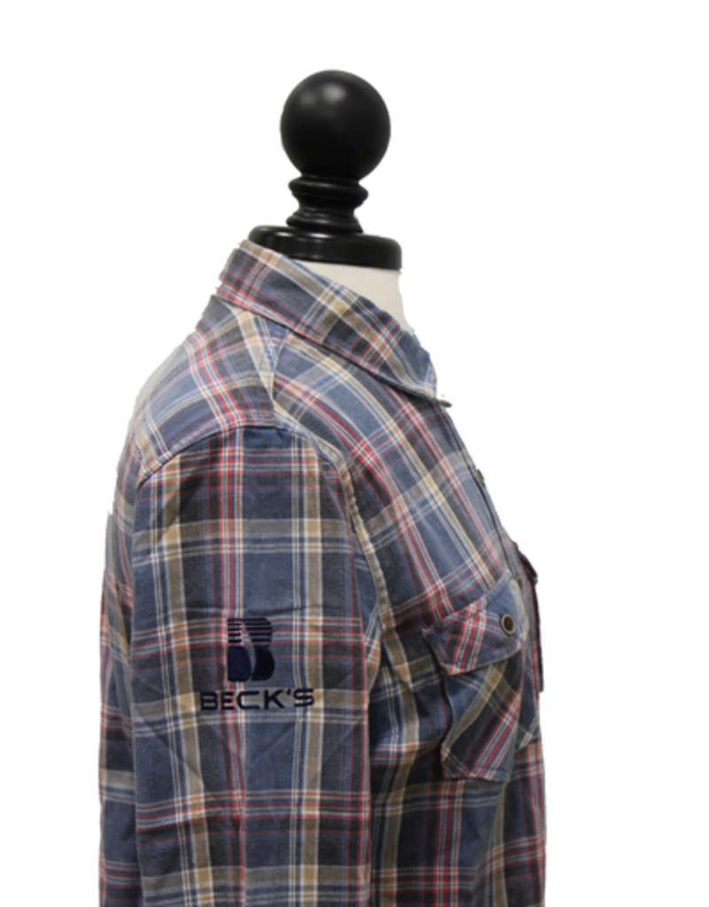 Weatherproof Vintage Ladies Burnout Flannel