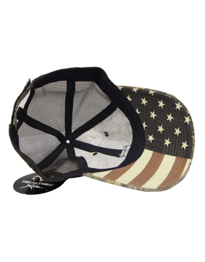 Real Tree Stars and Stripes Realtree Camo Hat