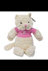 Chelsea 01627 Fuzzy Cat w/ Pink T