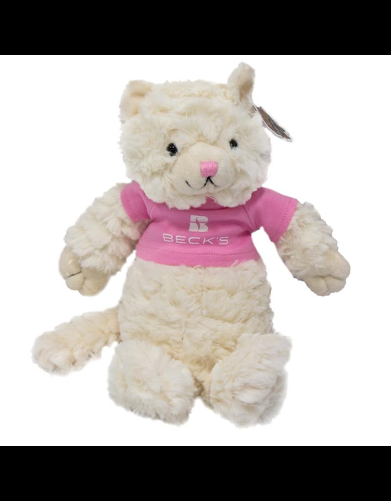 Chelsea Fuzzy Cat w/ Pink T