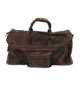 Cambridge Leather Weekend Shoulder Bag
