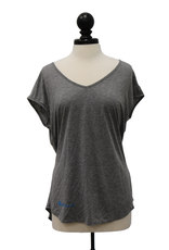 District Made Ladies Drapey Cross Back Tee
