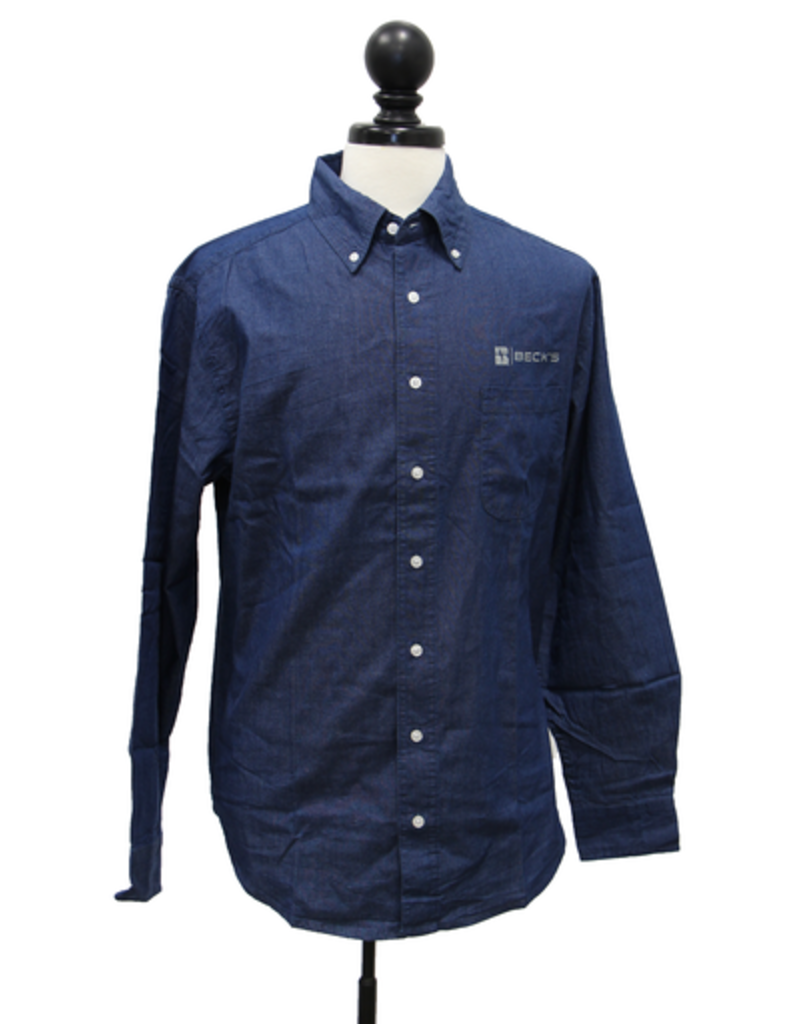 Vantage 01478 Hudson Denim Shirt L/S