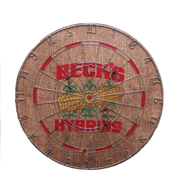 Cork Lined Dartboard w/ Metal Numbers