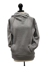 Women's Hooded Funnel Neck Sweatshirt