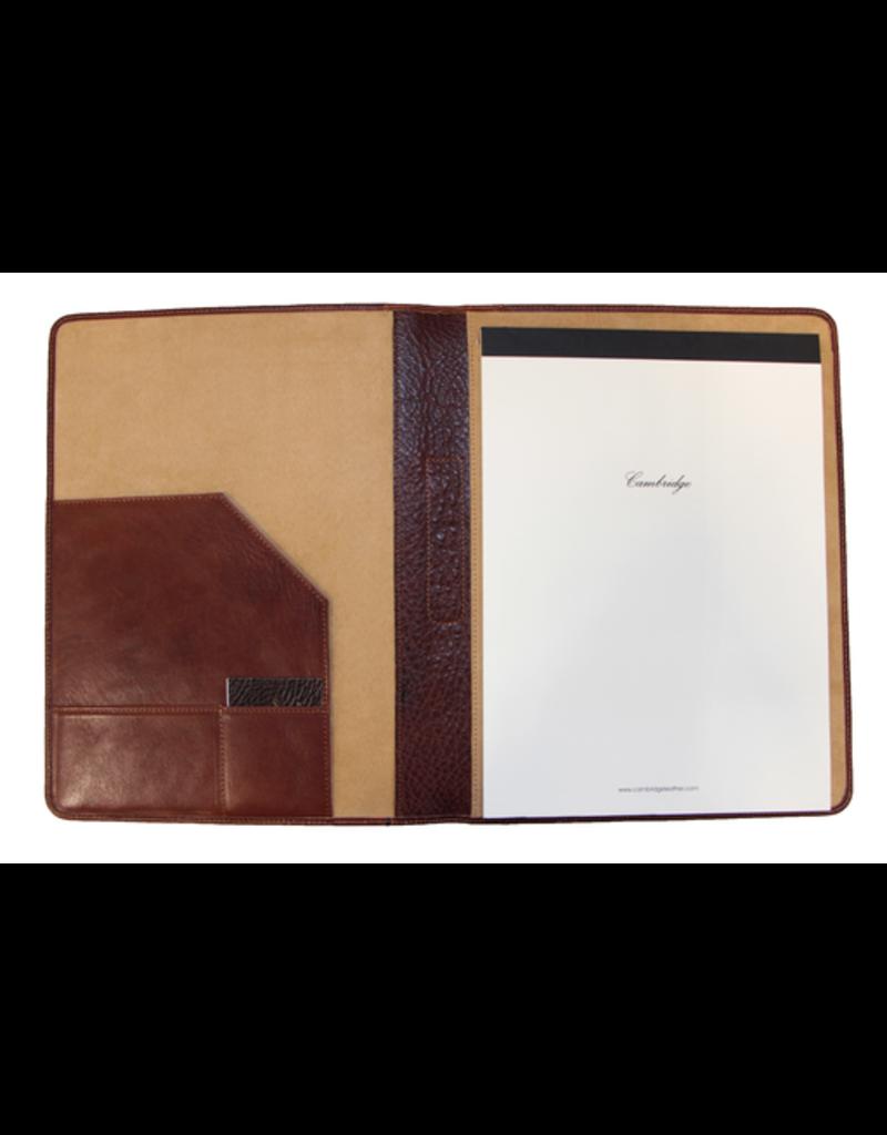 Cambridge 01321 Senior Portfolio Italian Cognac Leather