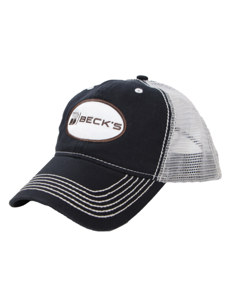 N/A Heavy Washed Mesh cap with patch