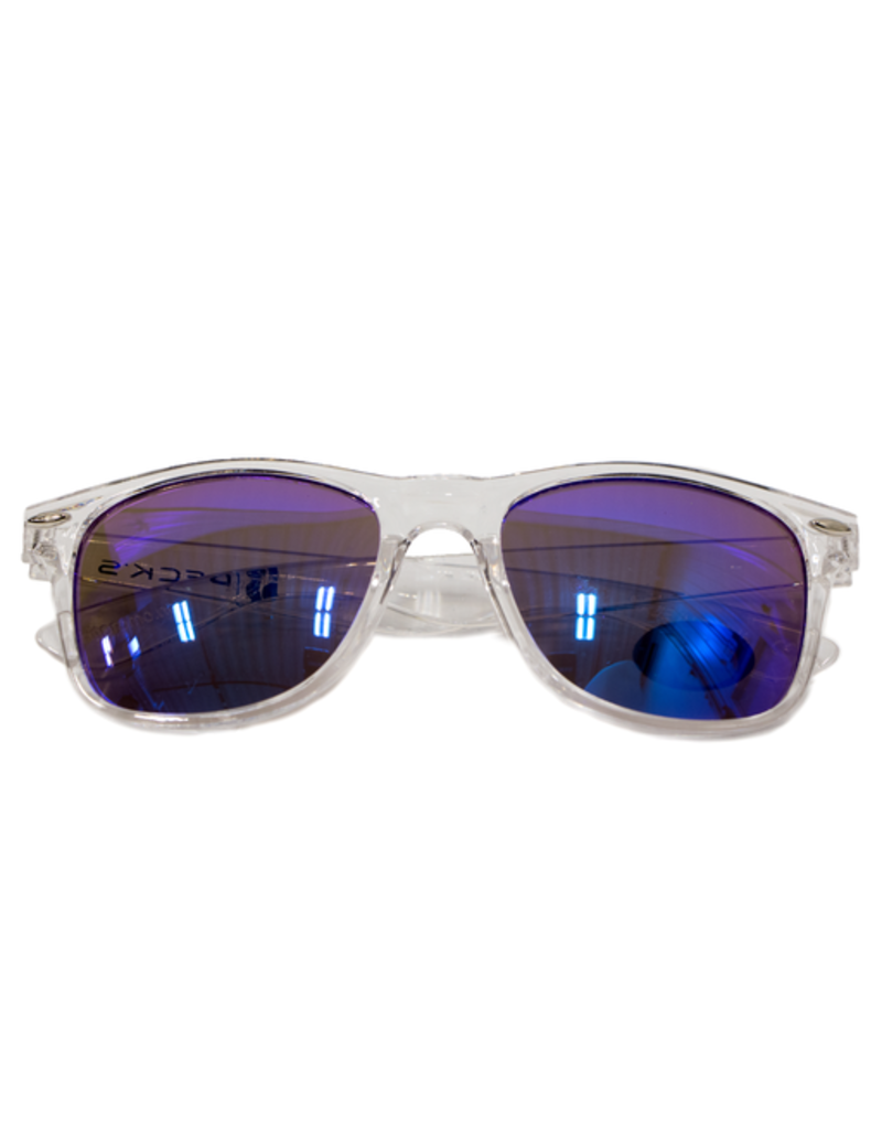 "N/A Mirrored Lens ""Why I Farm"" Sunglasses"