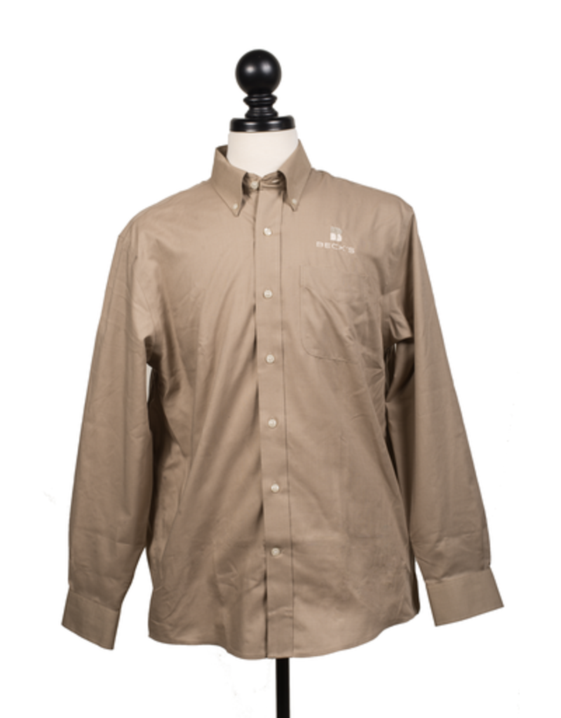 Cutter and Buck Nailshead Epic Easy Care L/S Dress Shirt