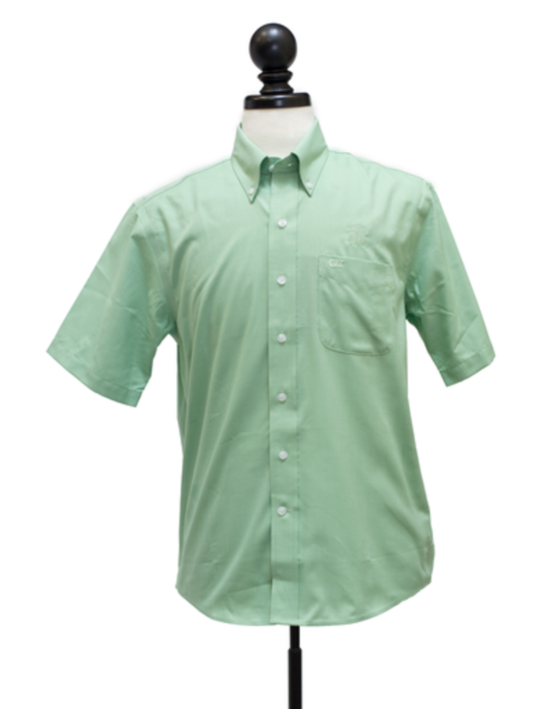Cutter and Buck Epic Easy Care S/S Nailshead Button Down Shirt