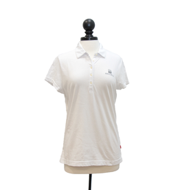 Izod Womens Heather Jersey S/S Polo