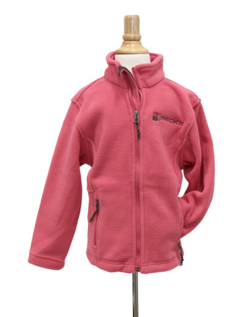 Harriton Youth Full Zip Fleece Jacket