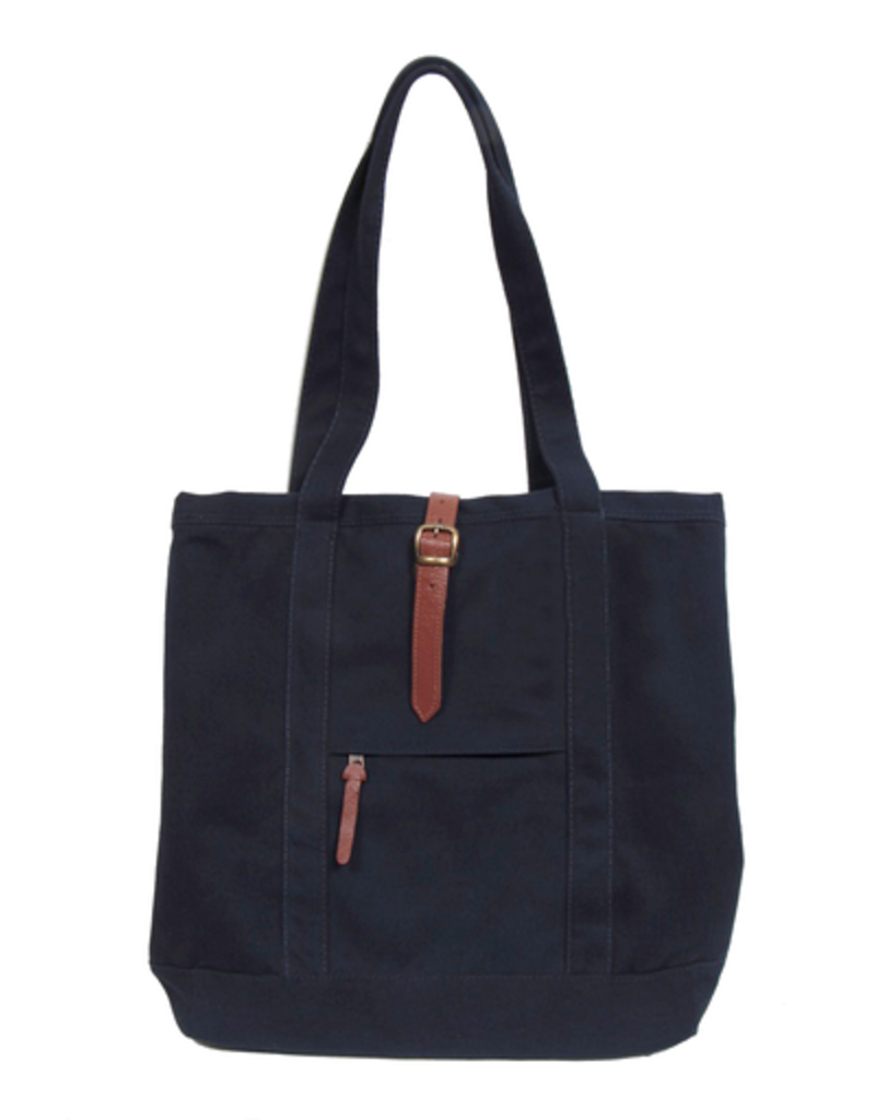 Carolina Sewn Canvas Strapping Tote Bag