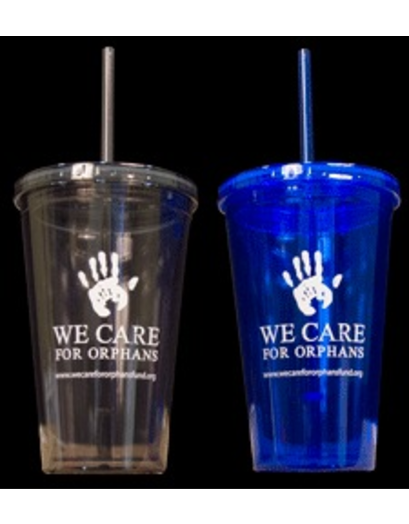 00633 We Care for Orphans Tumbler