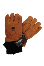 Manzella Leather Thinsulate Glove w/ Black Cuff