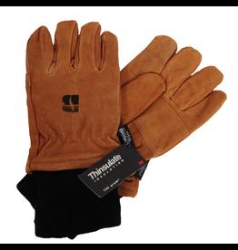 Manzella 00412 Leather Thinsulate Glove w/ Black Cuff