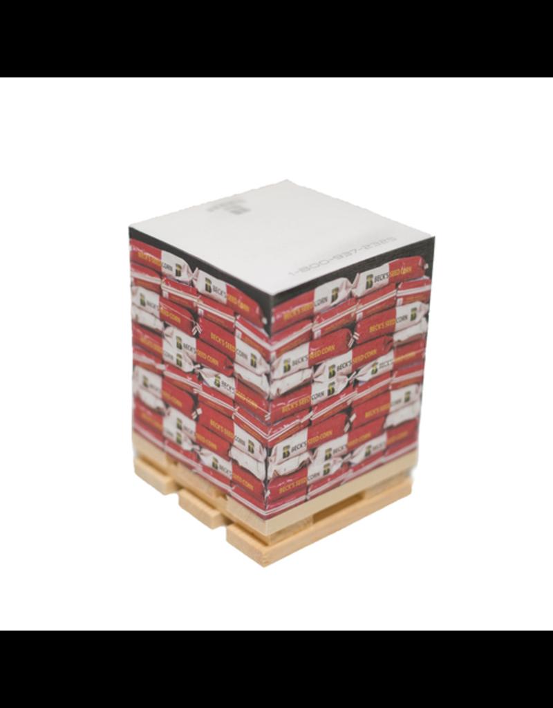 Sticky Notepads on Pallet 02417