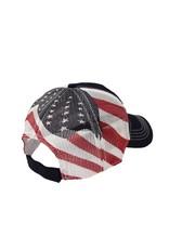 N/A American Flag Mesh Hat
