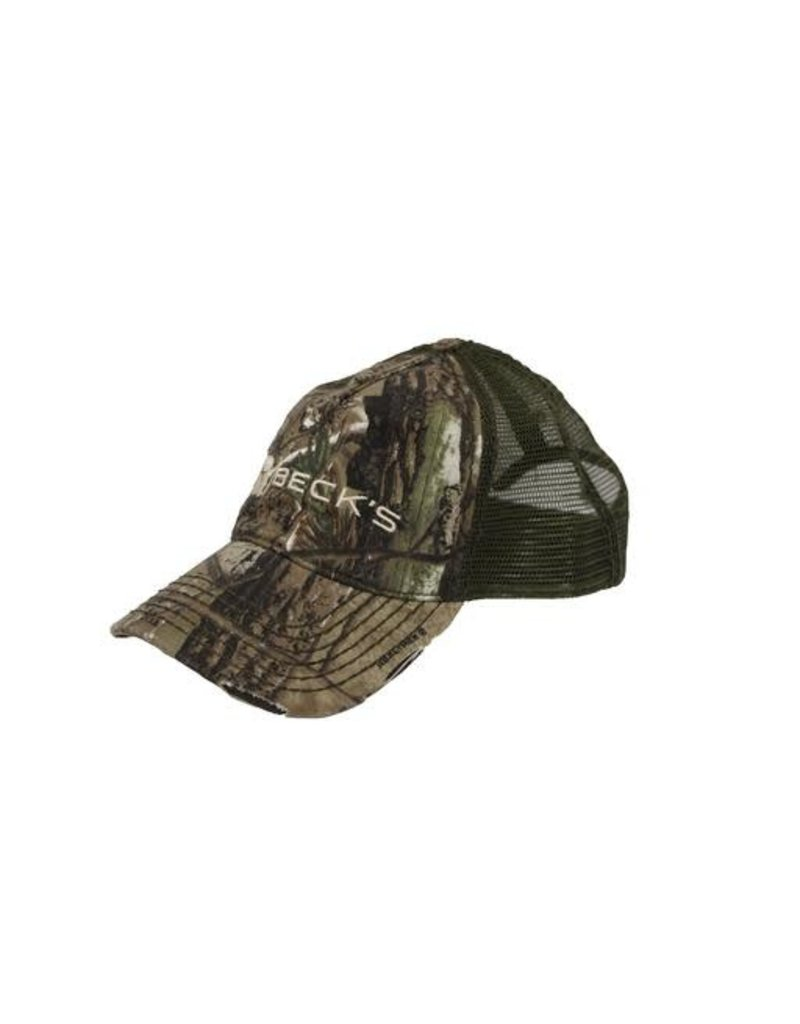 Real Tree Beck's Mesh Realtree Hat w/1937 on Back