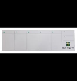 ASI 00975 Calendar Sticky Notepad