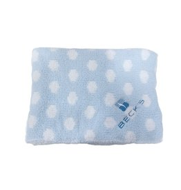 Colorado Clothing Chunky Chenille Polka Dot Baby Blanket