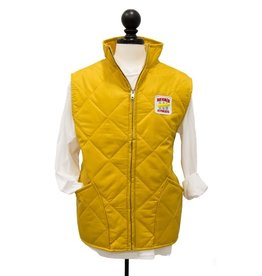 "CUSTOM ""Heritage Collection"" Men's Quilted Gold Vest"