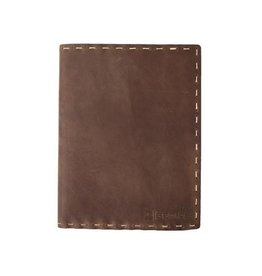 N/A Leather Composition Notebook