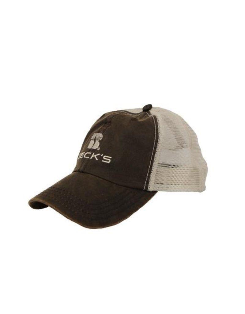 N/A Wax Cloth Mesh Cap