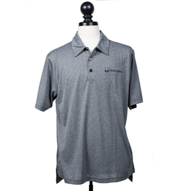Adidas 00676 Adidas Golf ClimaLite Heathered Polo