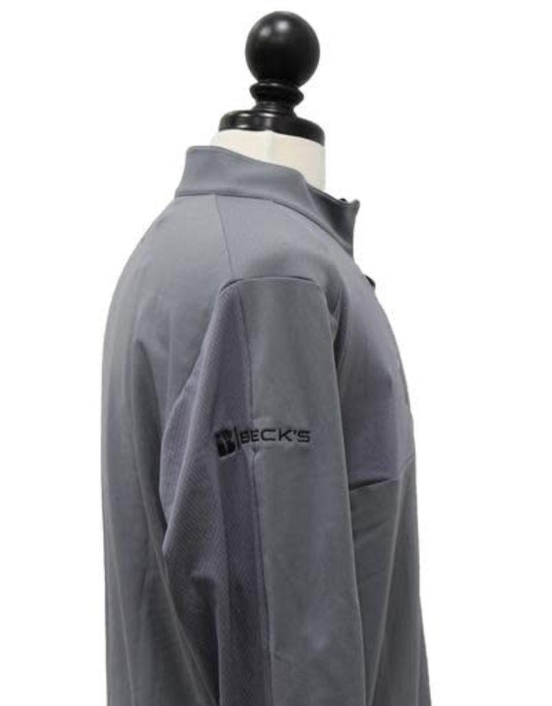 Adidas Adidas Mens Golf Mixed Media 1/4 Zip