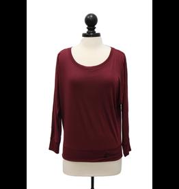 Bella 01691 Bella Flowy Off Shoulder Shirt