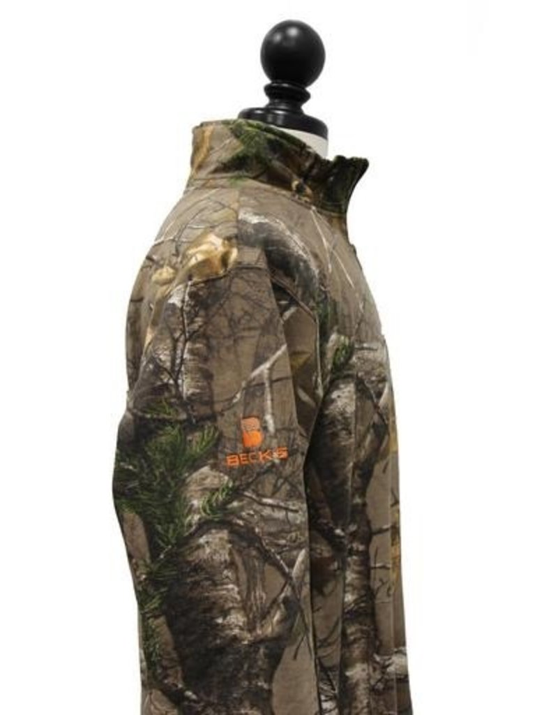 Real Tree 02091 Russell Realtree 1/4 zip sweatshirt