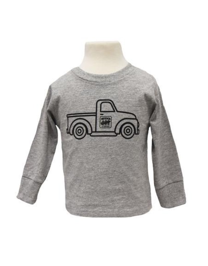 Rabbit Skins Toddler 'Vintage Truck' L/S T-Shirt