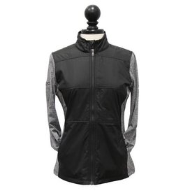 Cutter and Buck 02344 Cutter & Buck Ladies Full Zip Stealth
