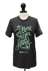 """Next Level """"More Than A Farm"""" Why I Farm T-Shirt"""