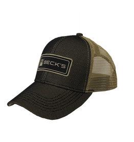 Black/Khaki Farmers @ Heart Hat