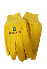 Fresh Concepts Yellow Cotton Gloves