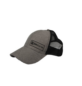 Beck's Gray/Black Mesh Hat