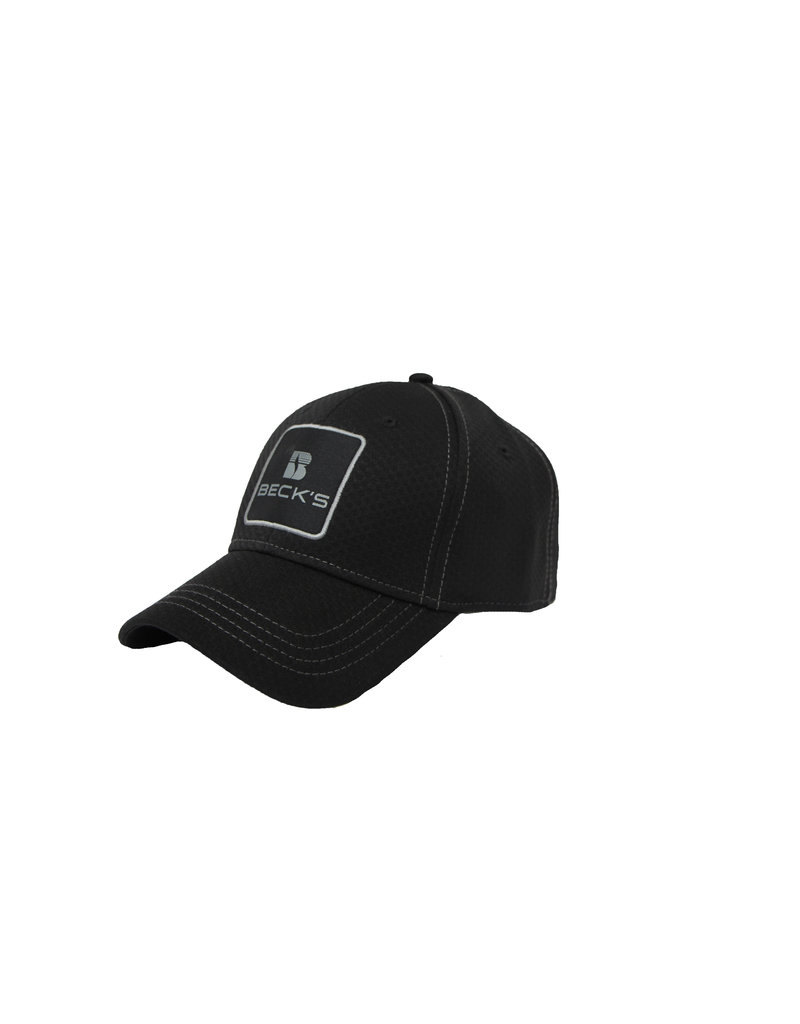 Stacked Logo Twill Patch Hat
