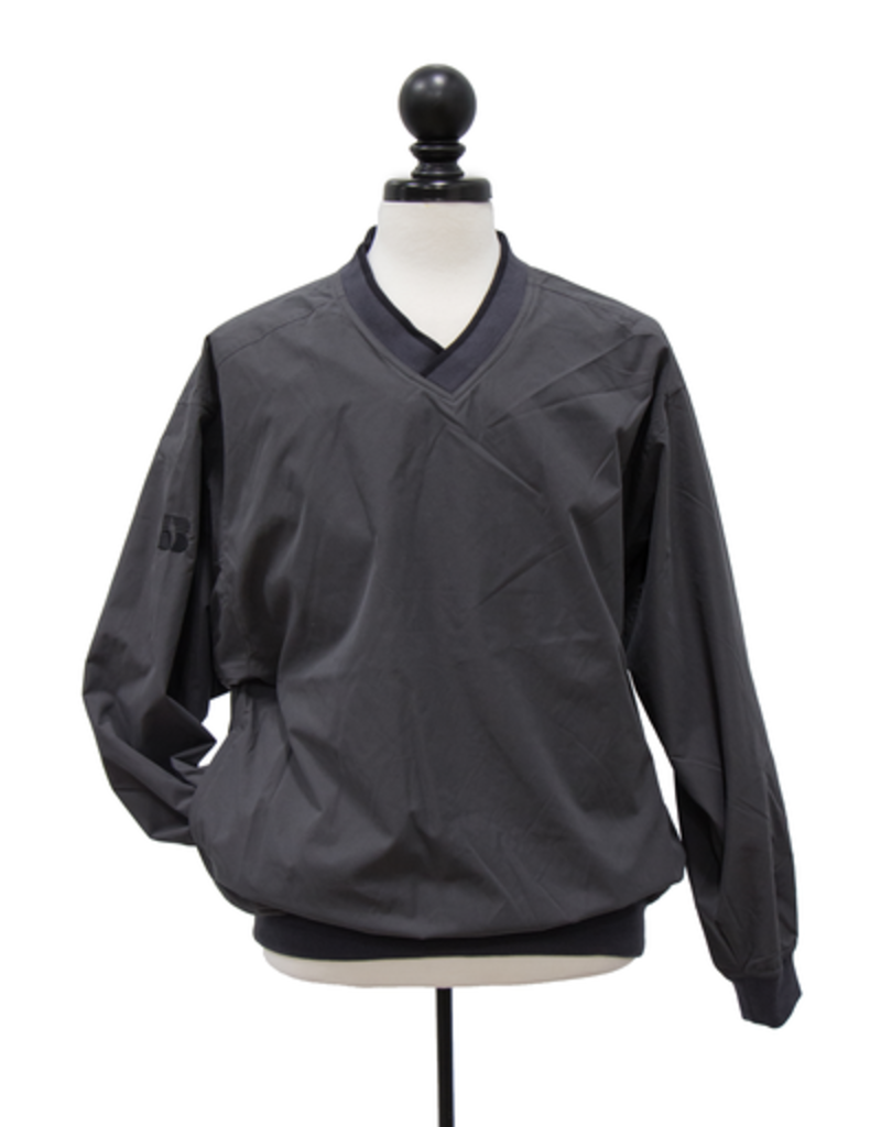 N/A Men's Lined Microfiber Windshirt