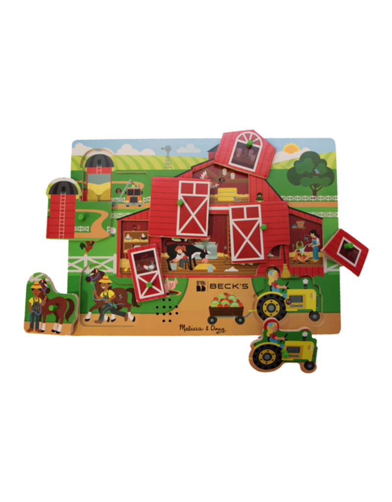 Melissa & Doug Melissa & Doug Around the Farm Sound Puzzle