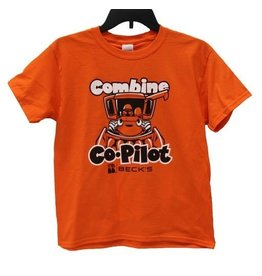 Rabbit Skins Combine Co-Pilot Toddler T-Shirt