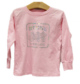 Bella+Canvas Toddler Long Sleeve Foil T-Shirt